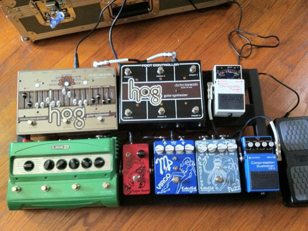 Kyle Palmer's Pedalboard