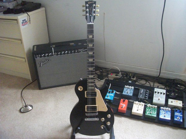Shawn Maginness' Pedalboard