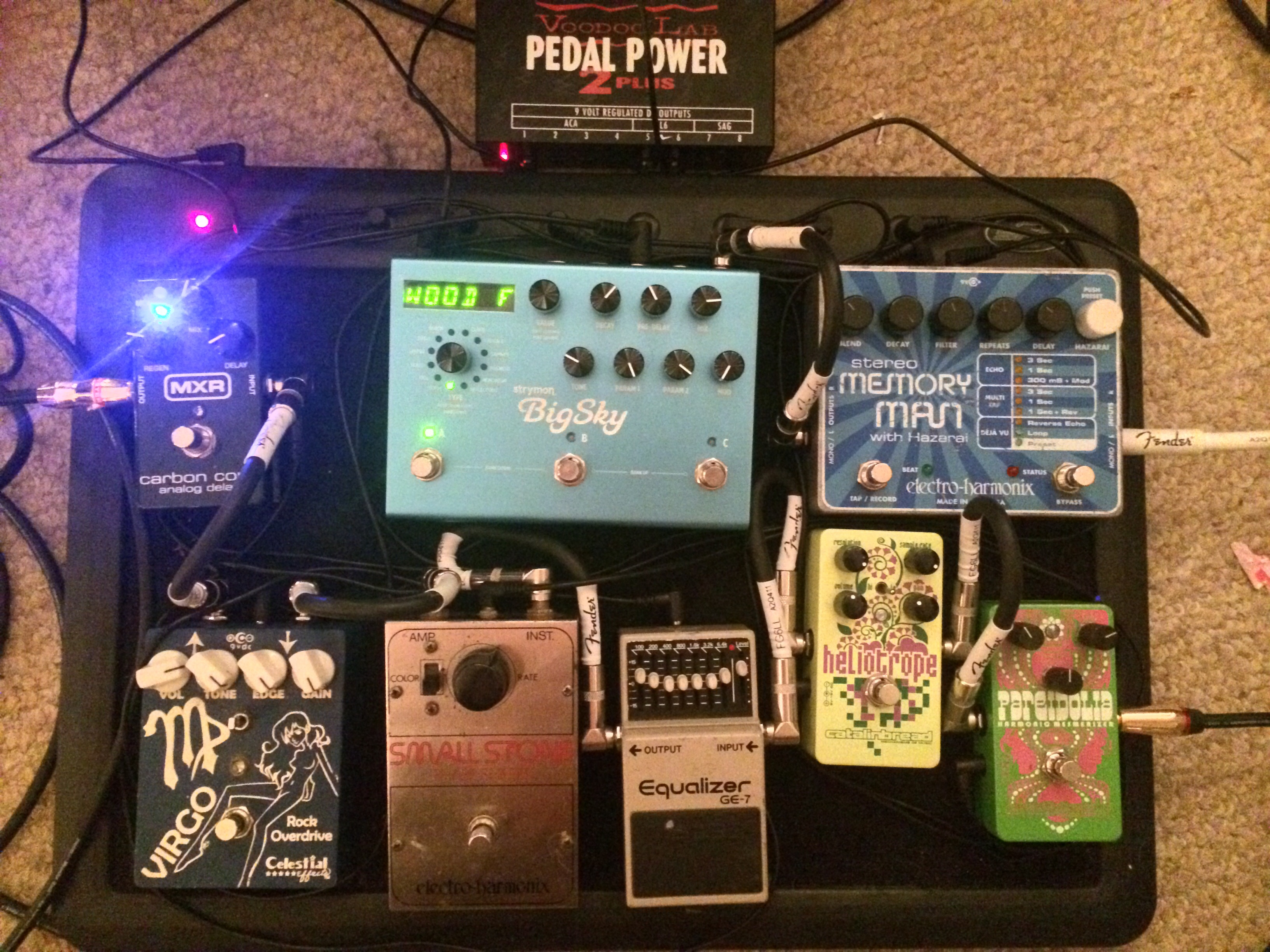Richie Smith's Pedalboard